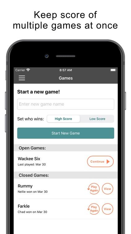 Keep Score GameKeeper