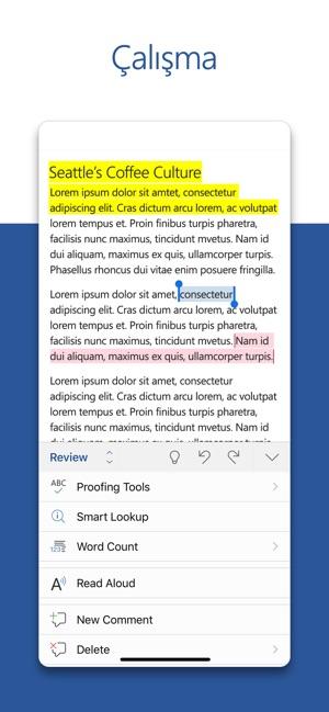 Microsoft Word App Store Da