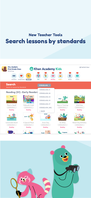 ‎Khan Academy Kids Screenshot