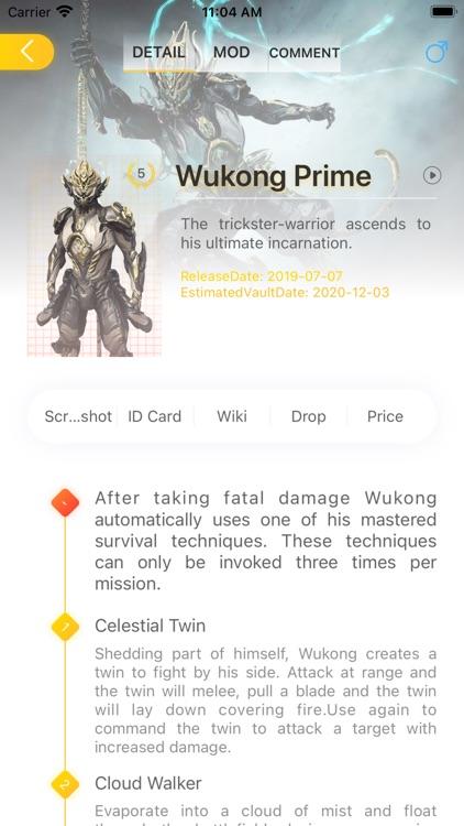WF Lotus - WarframeLotus screenshot-4