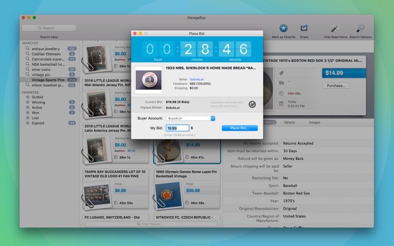 GarageBuy Screenshot