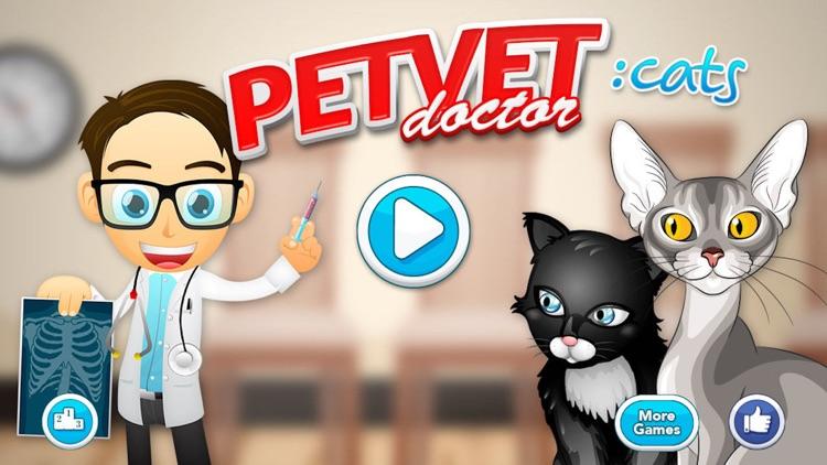 Doctor Games: Pet Vet Cat Care screenshot-4
