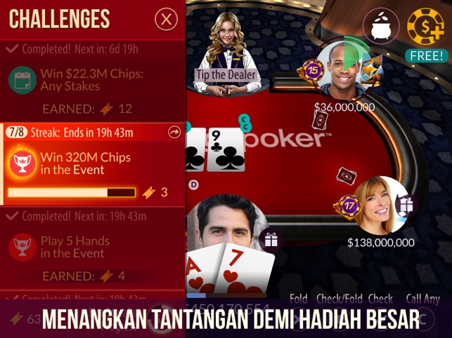 Zynga Poker Texas Holdem Di App Store