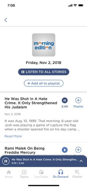 Npr On The App Store