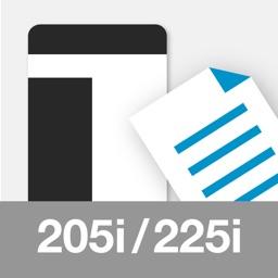 MobilePrint for bizhub205/225i