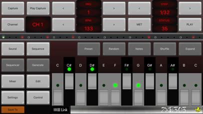 2XB303 Bass Sequencer EDM-303
