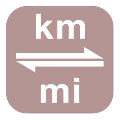 Kilometres to Miles   km to mi