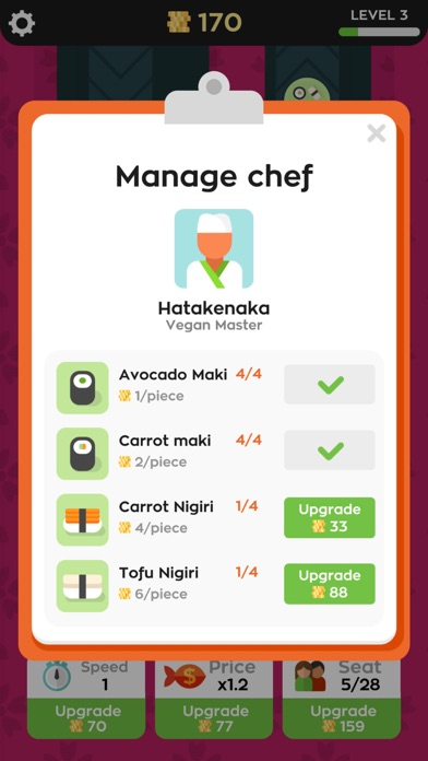 Download Sushi Bar Idle for Pc