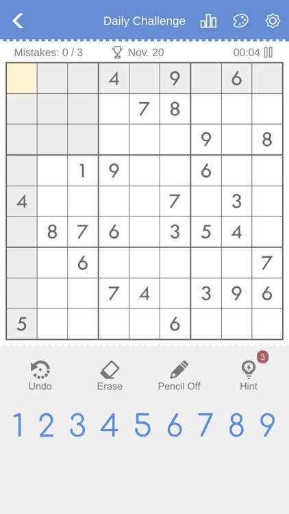 Sudoku - Brain Puzzle Games screenshot-1