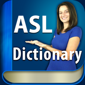 ASL Dictionary HD American Sign Language icon
