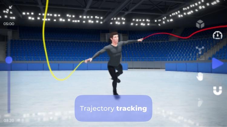 Freezio Figure Skating 3D app screenshot-4