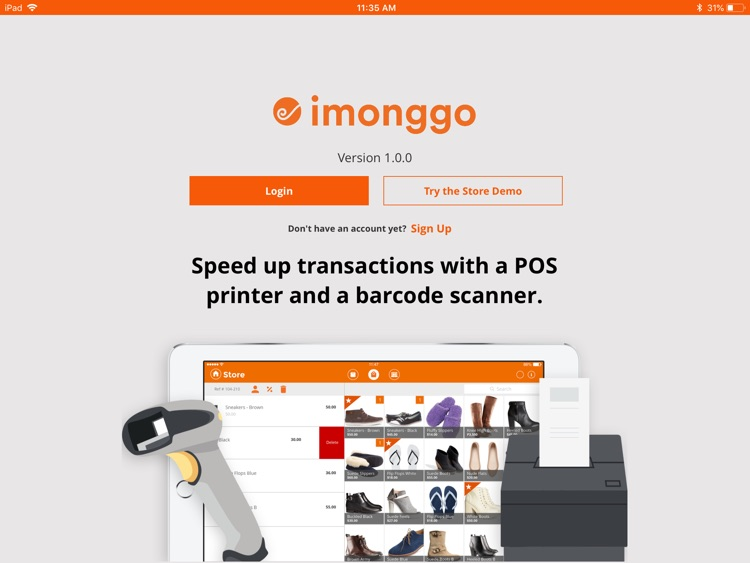 Point of Sale (POS) by Imonggo