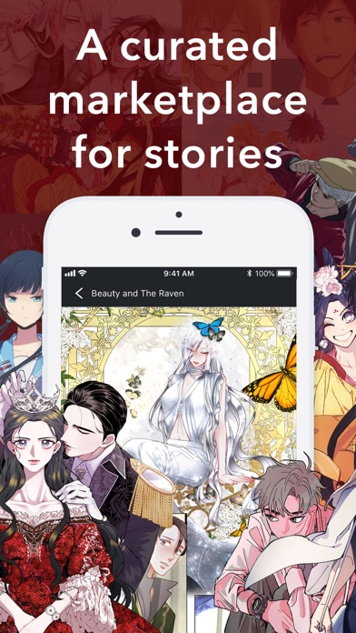Pocket Comics: Premium Webtoon Screenshot