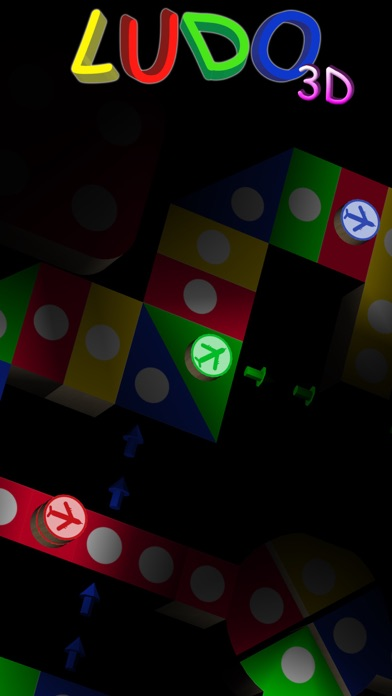 Screenshot #2 pour Ludo 3D : Aeroplane Chess