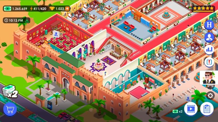 Hotel Empire Tycoon-Idle Game screenshot-4