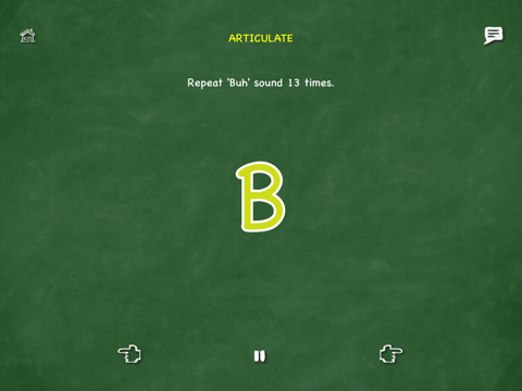 Screenshot of Activate Your Voice