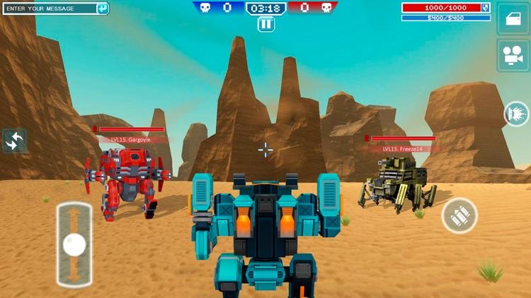 Blocky Cars - pixel shooter screenshot-6