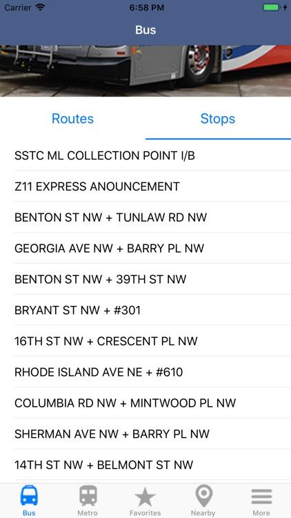DC Metro & Bus: Navigator Map screenshot-5