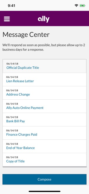 Ally Auto Payment >> Ally Auto Mobile Pay En App Store