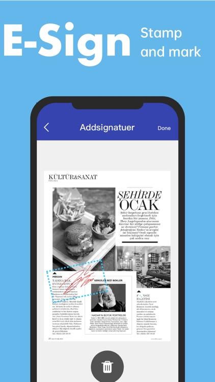 Scanner App -- PDF Scan App screenshot-3