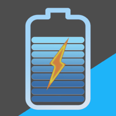 Ampere - battery charge info
