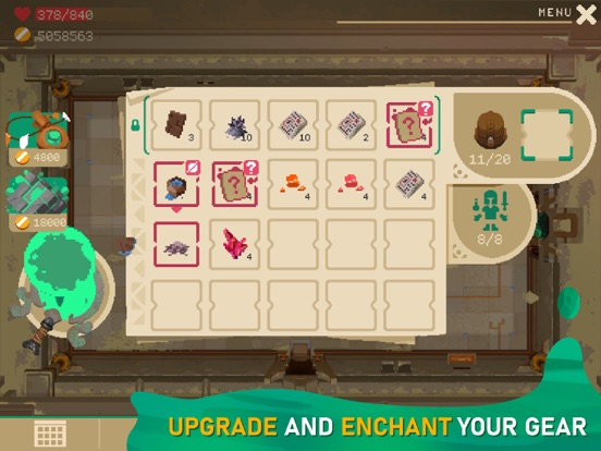 Ipad Screen Shot Moonlighter 8