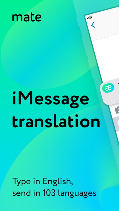 Screenshot #6 for Mate – translate speech & text