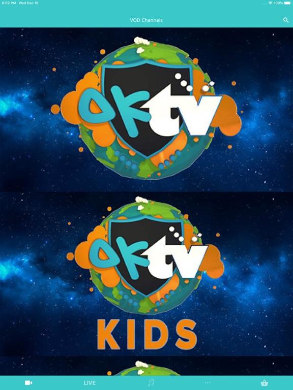 Screenshot #1 for OKTV  - A voice for children