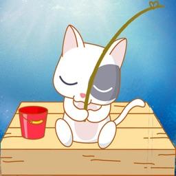 Cute Cat Fishing