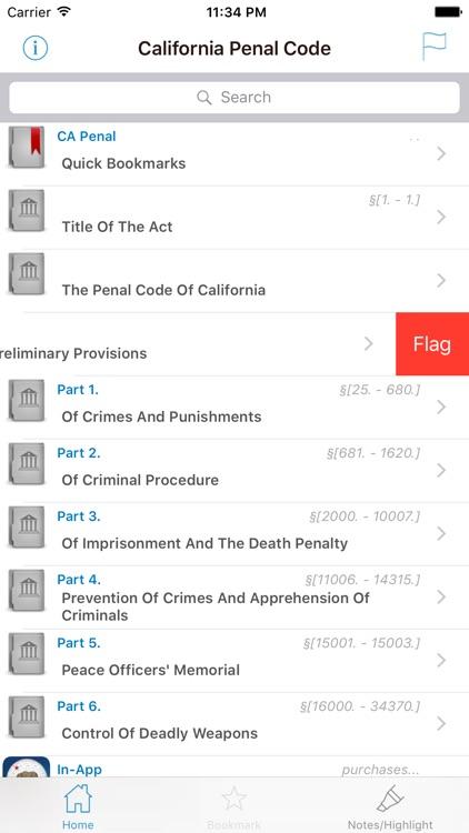 CA Penal Code (California)