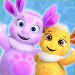 Лунтик Дом Игра для малышей 3D на пк