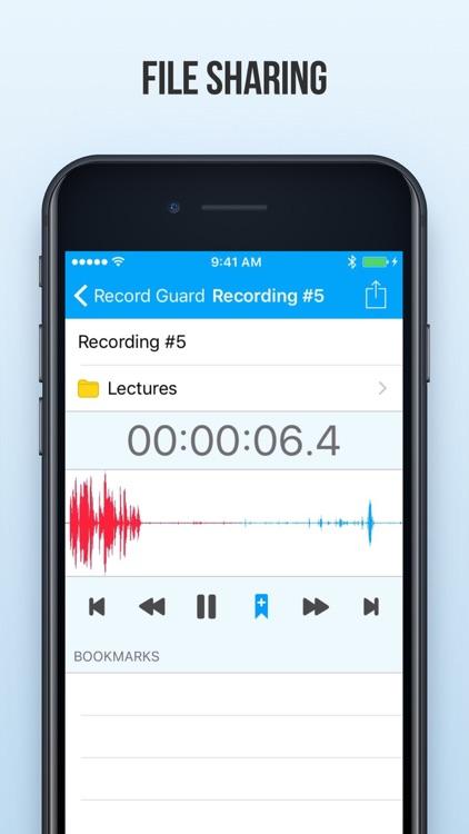 Audio Recorder and Editor screenshot-3