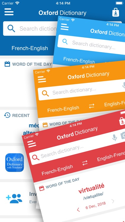 Conc. Oxford French Dictionary screenshot-4