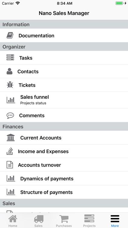 Nano Sales Manager screenshot-7