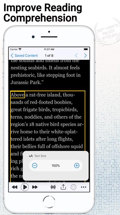 WebOutLoud - Text to Speech screenshot-3