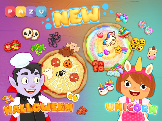 子供向けの料理ゲームとピザ作り Pizza gamesのおすすめ画像2