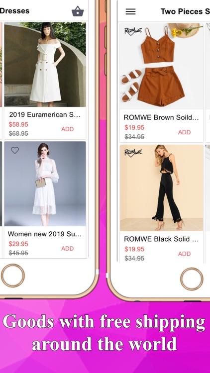Fashion women online shopping screenshot-4