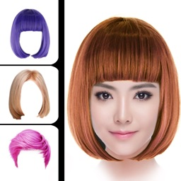 i Hairstyle-hair color changer