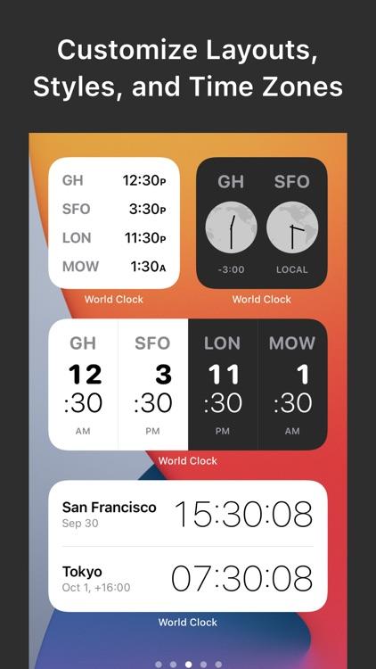 World Clock Widgets