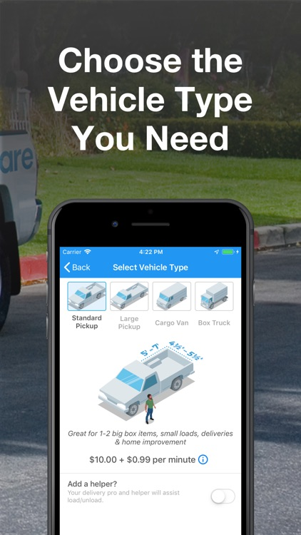GoShare: Deliver, Move & Haul screenshot-3