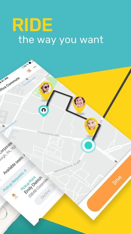 SoMo - Smart Group Ride Share screenshot-3
