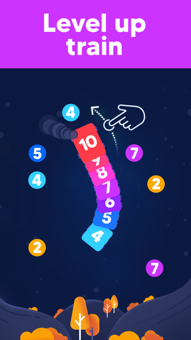 IQ Train -  Number Snake Game screenshot 6
