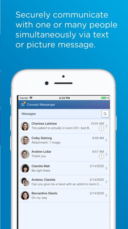 CareAware Connect Messenger