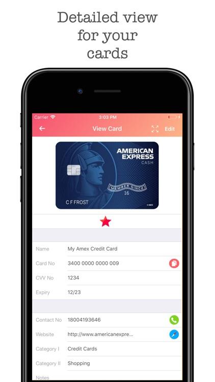 Wallet Pro - Credit Wallet screenshot-3