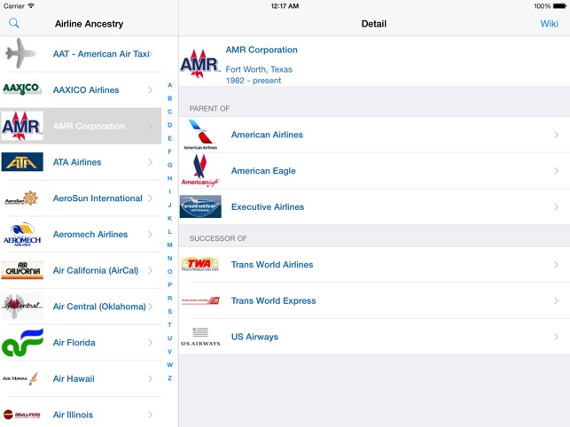 US Airlines Past Present On The App Store