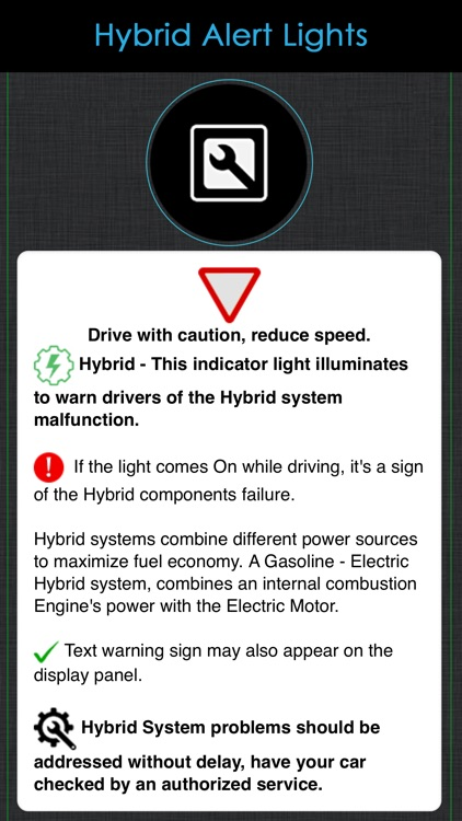 Toyota Warning Lights Meaning screenshot-6