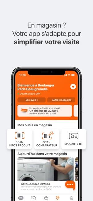 Carte Fidelite Boulanger En Ligne.Boulanger Dans L App Store