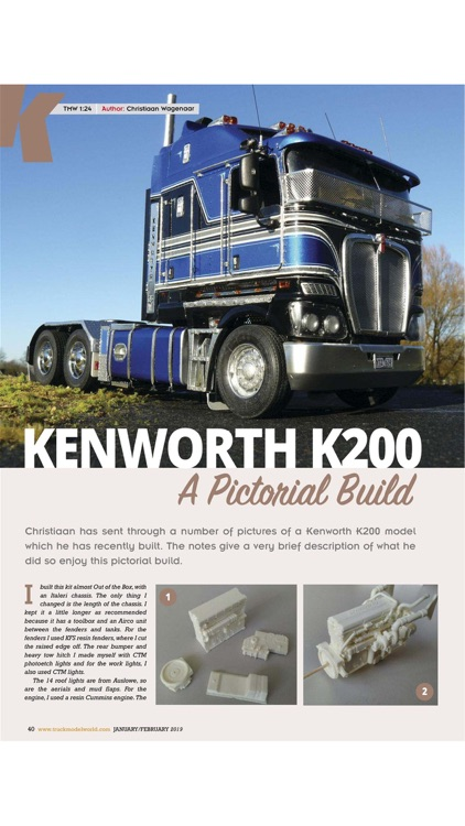 Truck Model World Magazine screenshot-3