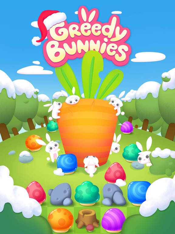 Игра Greedy Bunnies