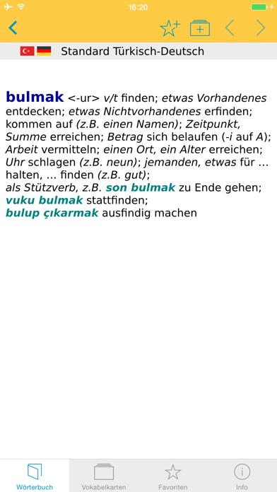 Großes Türkisch Wörterbuchのおすすめ画像1